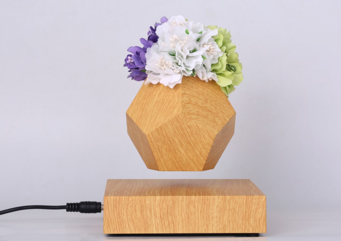 factory sale 360 rotating PA-0708 magnetic levitation floating air bonsai plant tree flower pot