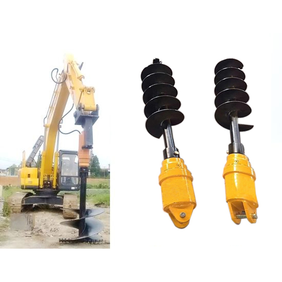 ADH4500 series 3-4.5T auger drive unit for compact excavator attachment drilling auger drives