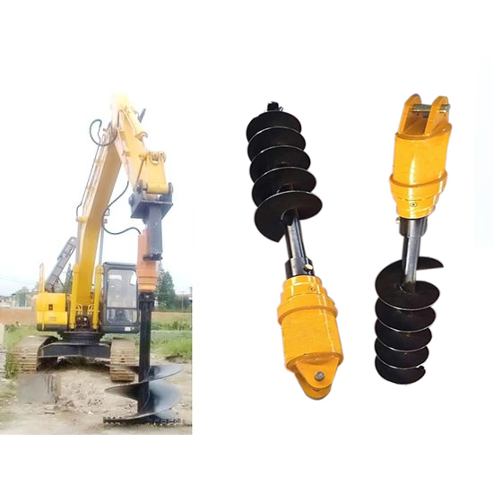 ADH9800 8-13T  series rexroth gft final drive hydraulic earth auger drill for construction