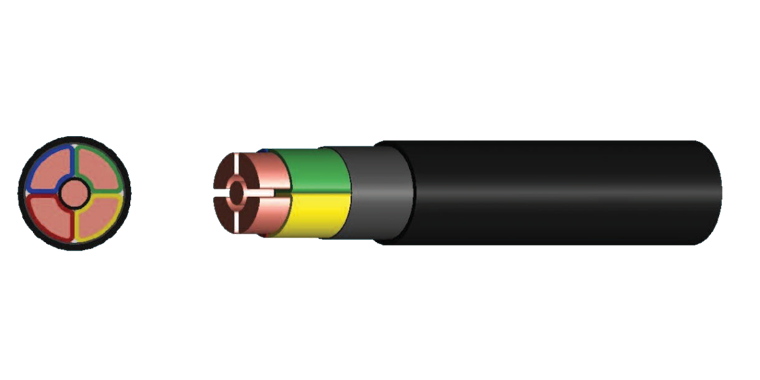 4 Cores +Earth Power Cable (XLPE Insulated)