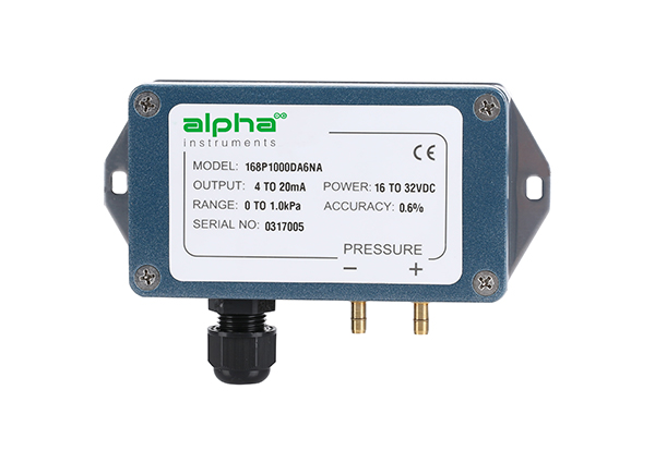 Model 168 intrinsically safe Differential Pressure Transducer