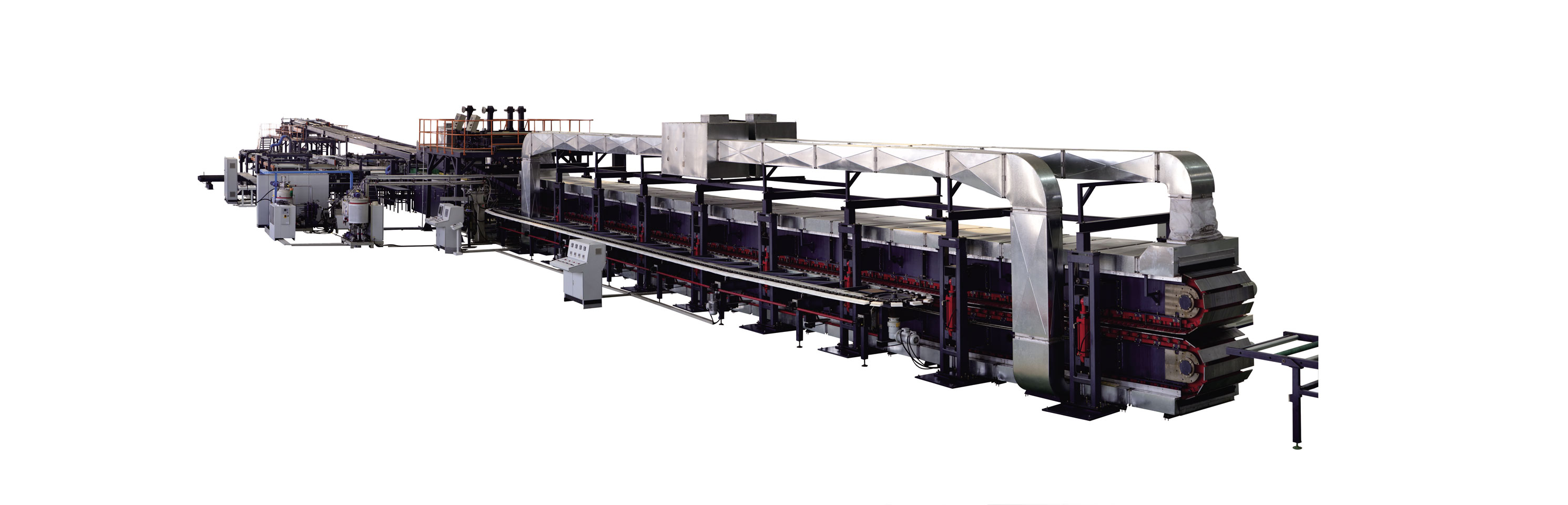 PU/PIR Continuous Sandwich Panel Production Line