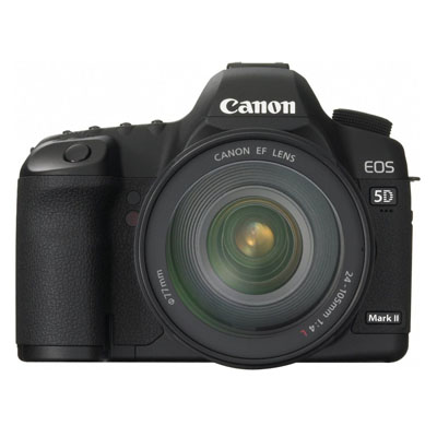 Canon EOS 5D Mark II 21.1MP Full Frame CMOS Digital SLR Camera 5D Mark II 24-105mm Lens