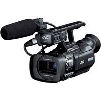 JVC Compact Handheld 3-CCD Camcorder - GY-HM150U