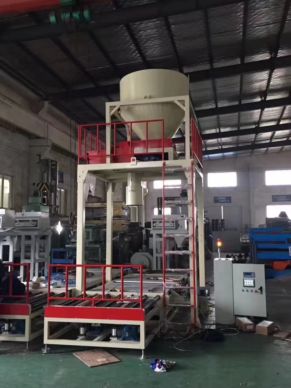 cement bag filler Wuxi HY Machinery Co., Ltd. Automatic Packing Palletizing Line