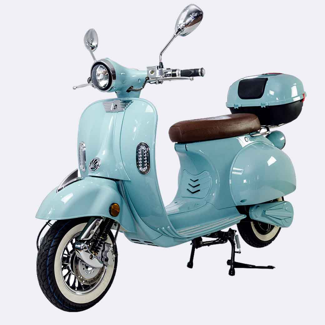 Classic EV3000W Retro Electric Moped Vintage Vespa-style