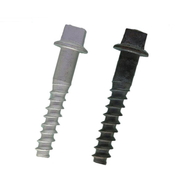 Rail Screw Spike for Wooden or Concrete Sleeper railway fastener