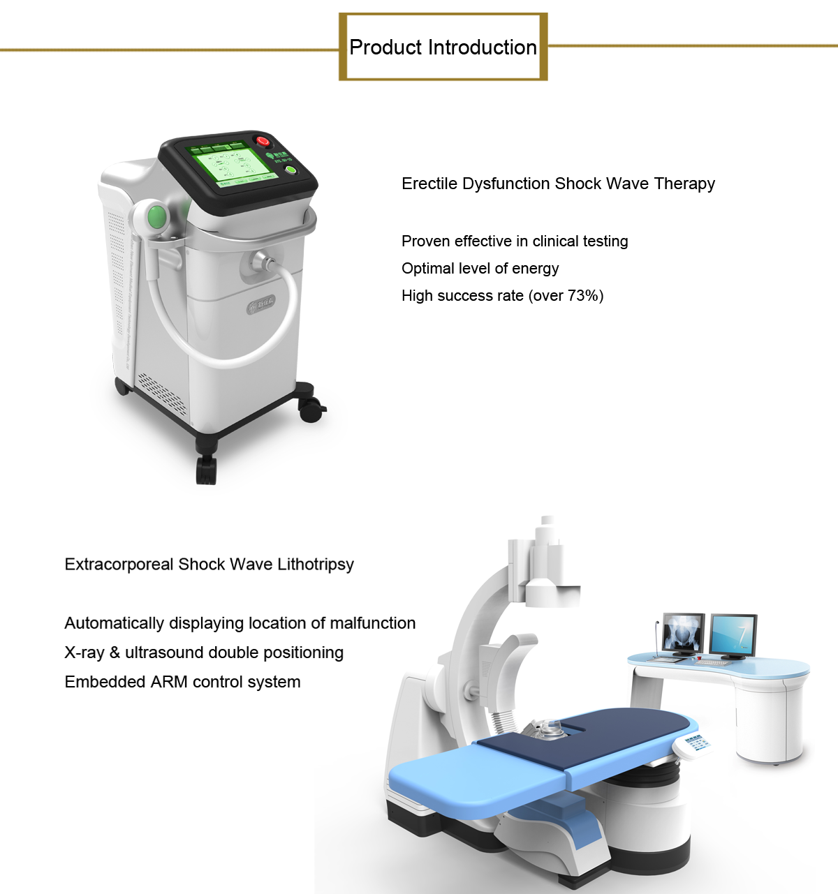Electromagnetic extracorporeal shock wave lithotripter XYS.SUI-6X