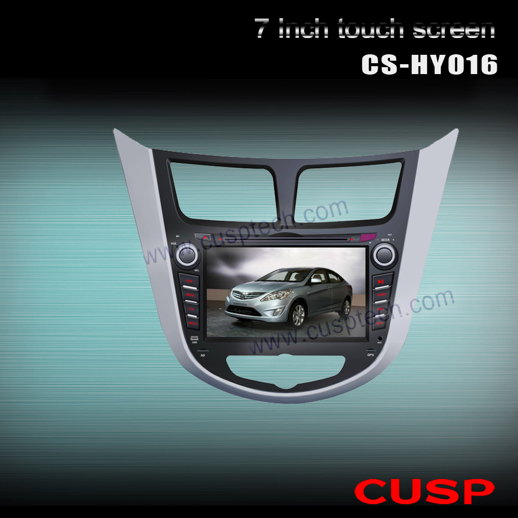 7'' CAR multimedia PLAYER WITH GPS navi FOR HYUNDAI VERNA