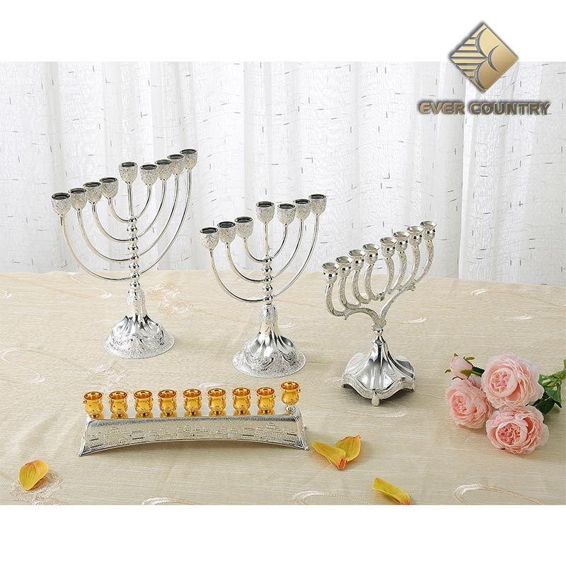 Israelish candle holders