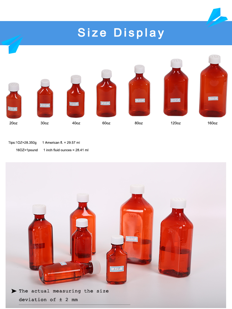 Plastic vials and bottles
