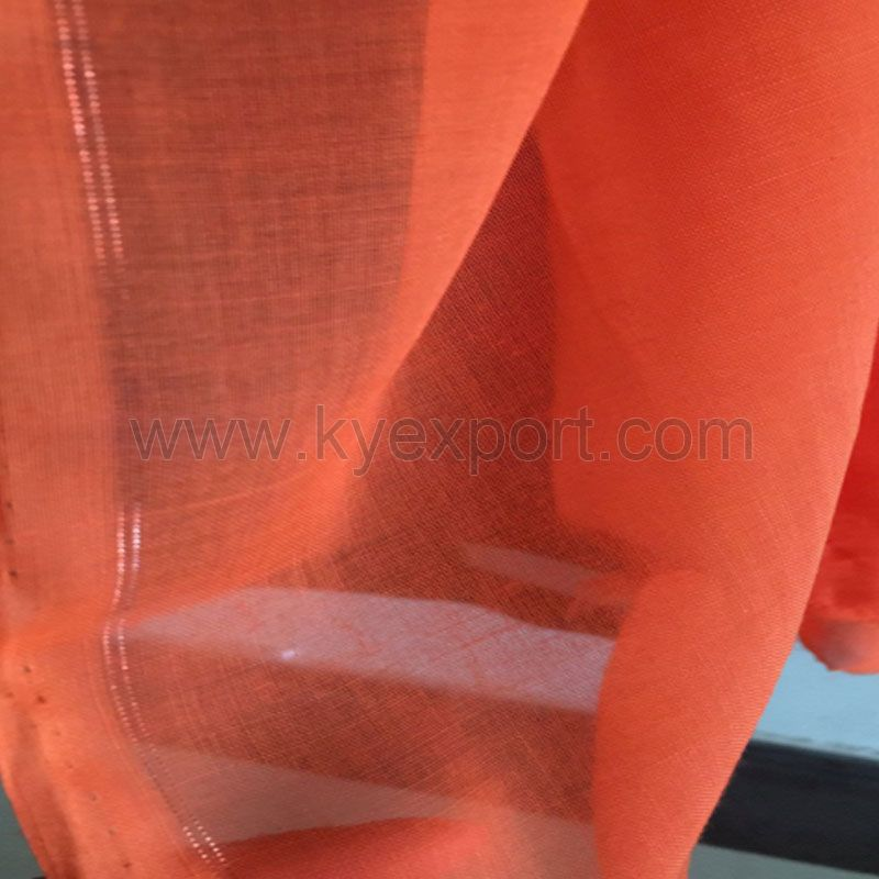 Polyester Voile Dyed Fabric