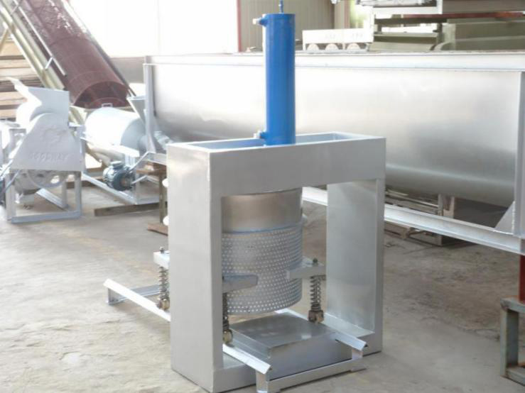 Hydraulic Dewatering Press