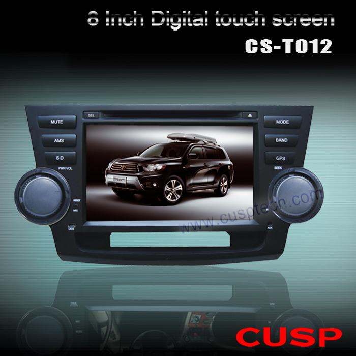 CS-T012 special CAR multimedia PLAYER WITH GPS