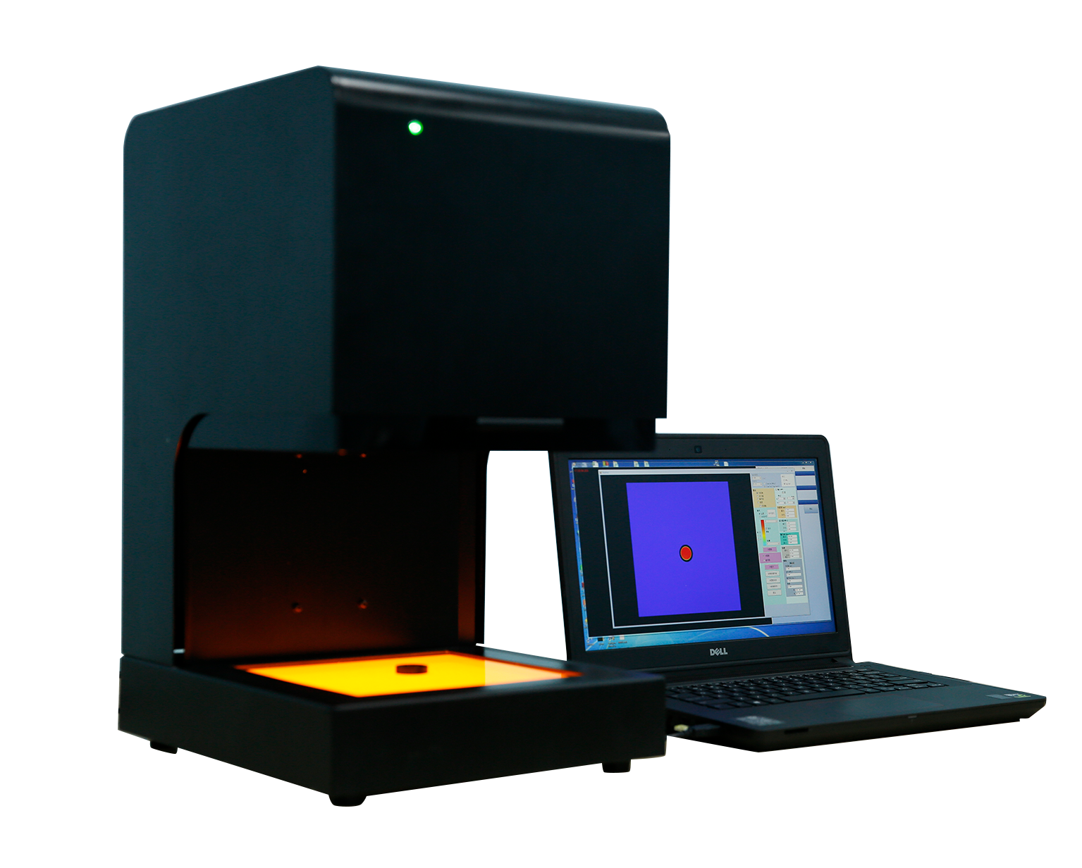 Computerized  Automatic Polariscope stress analysis Online stress meter