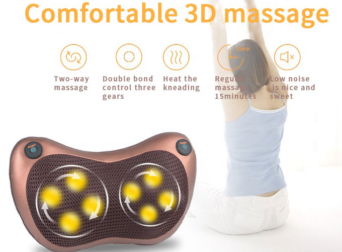 Plug-in Multi-functional Electric Massage Pillow