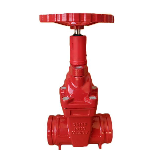 Cast Iron Pressure Groove End Gate Valve