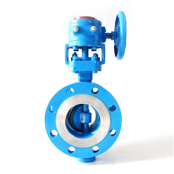 WCB Three Triple Eccentric Butterfly Valve