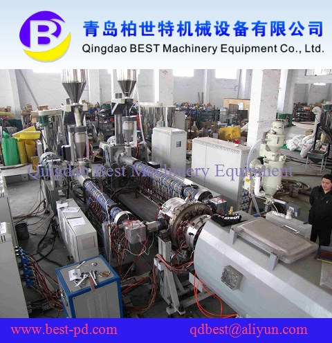 Multi-Layers HDPE Pipe Production Line