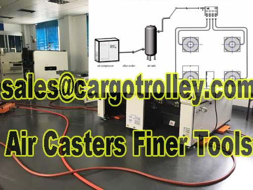 Air caster rigging systems handling equipment are a great way