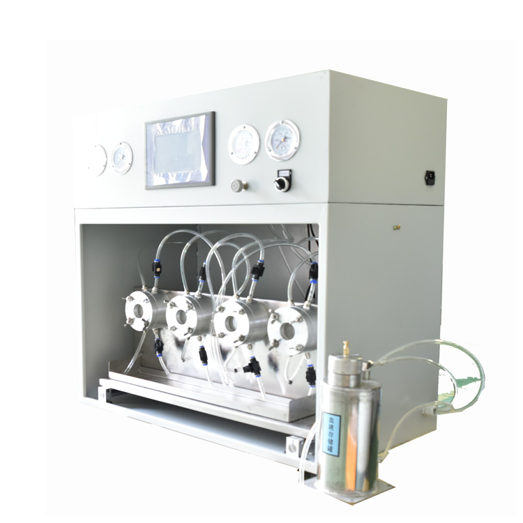 Protective clothing blood penetration testing machine
