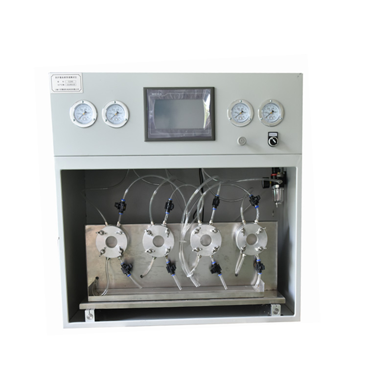 Anti Synthetic blood penetration tester for protective clothing
