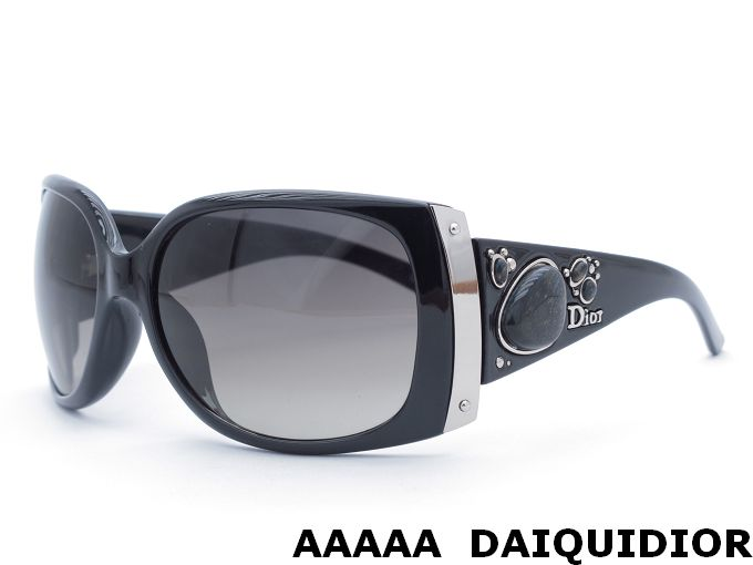 Dior Black Frame Glasses : Dior DaiquiDior Black Frame Black Diamond Sunglasses ...