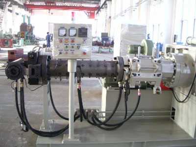 Cold feed compounding extruder-rubber extruder