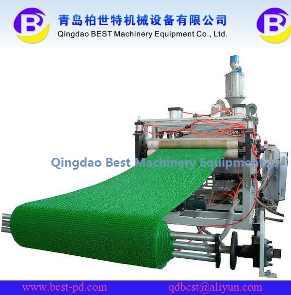 PE Plastic Grass Lawn/Mat/Turf Extrusion Line