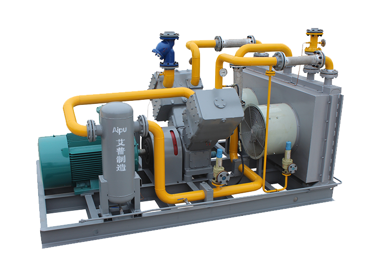 V-type Hydrogen Gas Compressor