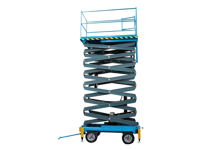 Hydraulic lifting platform-Movable lift freight elevator