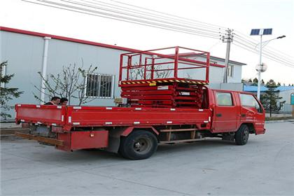 Vehicle-mounted hydraulic lifting platform-Movable lift