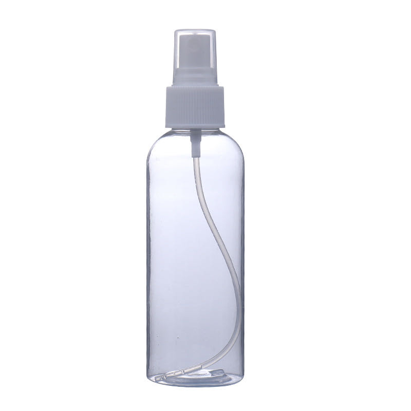 Clear plastic pet spray bottle