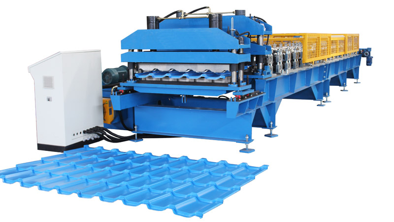 Roofing Tile/Glazed Tile Making Machine