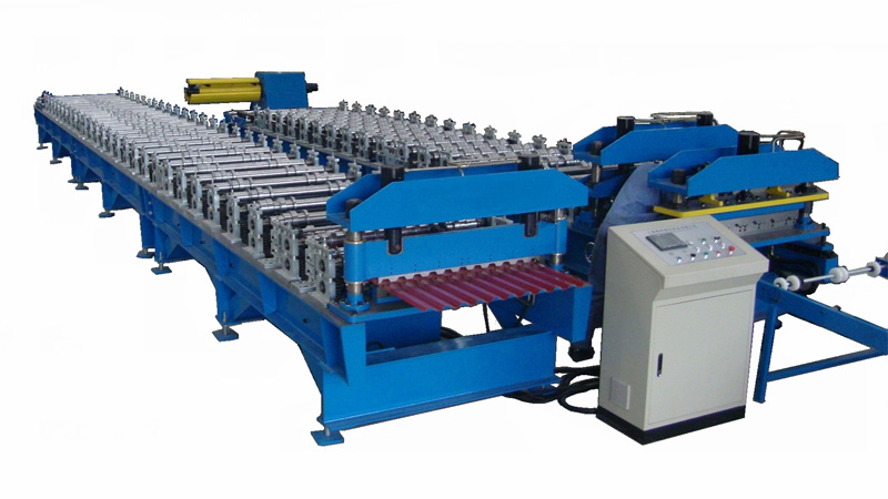 Roof/Wall Panel Roll Forming Machine