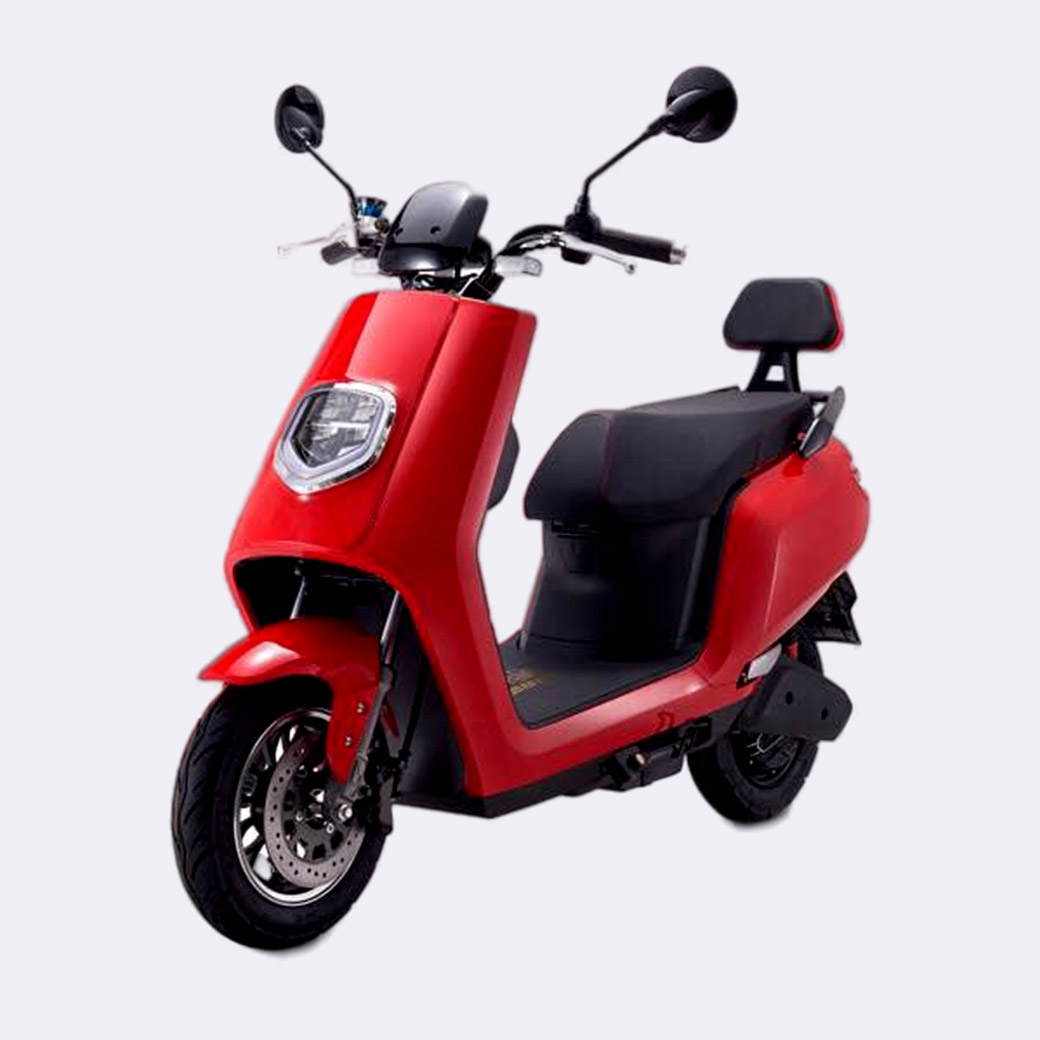 2000W Commute Lightweight Electric Moped
