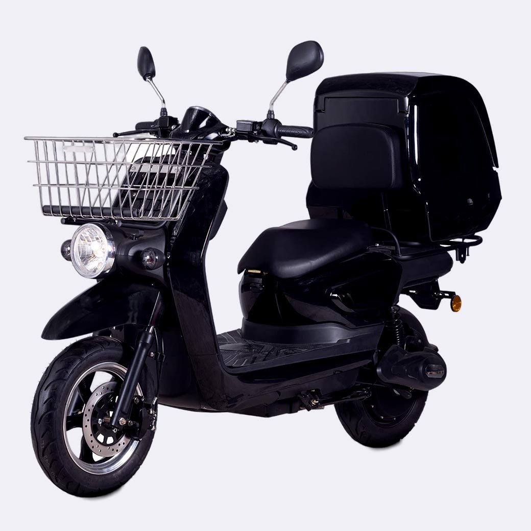 3000W Electric Delivery Moped Electric Pizza delivery Scooter