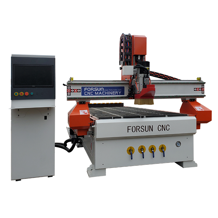 CNC Wood Router Machine with CCD Camera