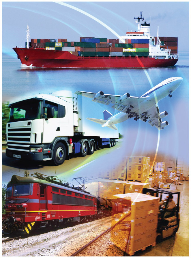 Delivery, handling of cargo of any