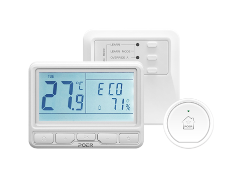 Find Different Types of POER Smart Programmable Thermostats