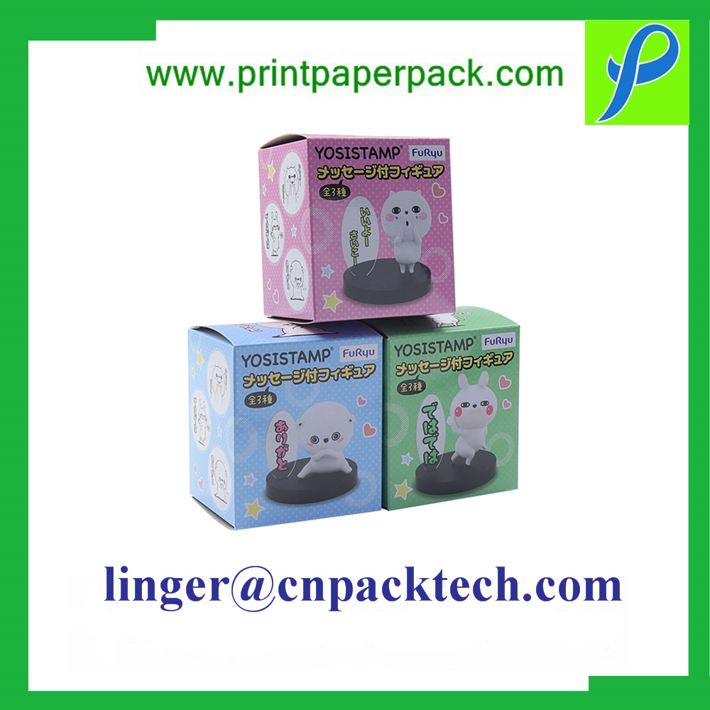 Customized Cartoon Cardboard Display Gift Paper Blind Mysterious Box