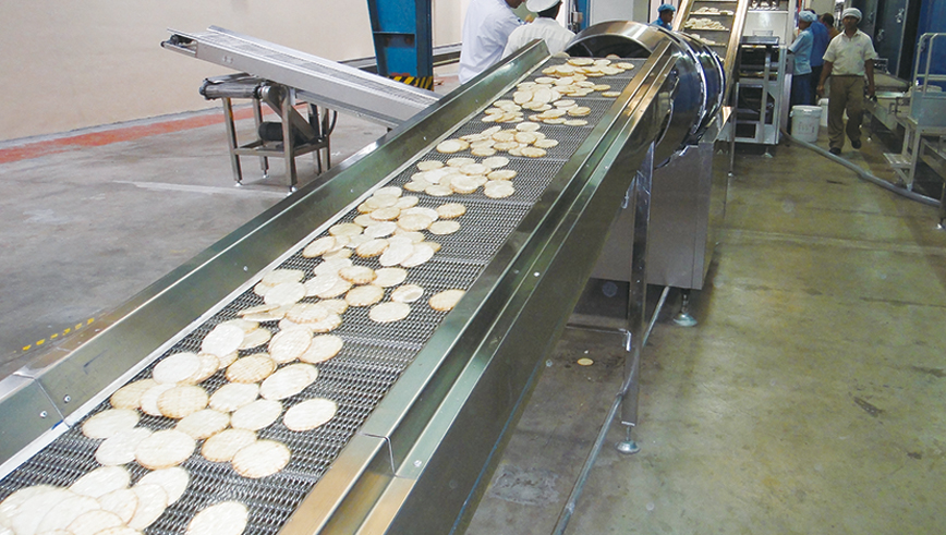 Full Automatic Sandwich Cake Production Line