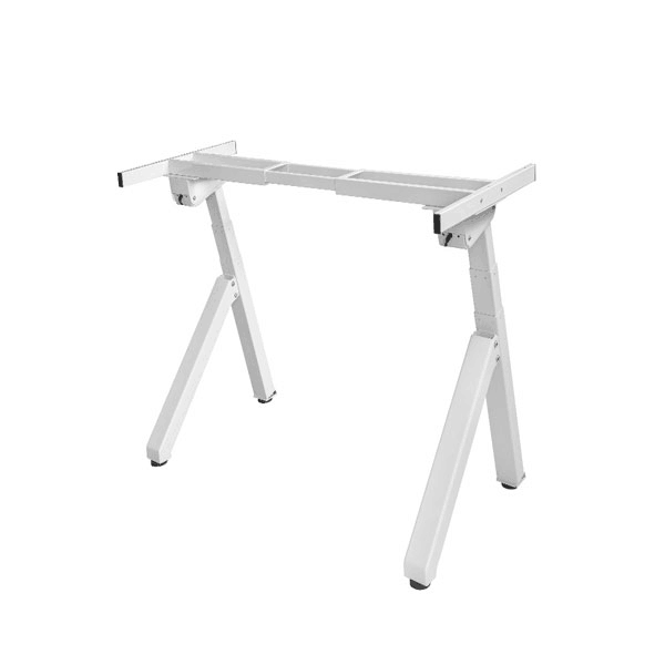 Dual Monitor Raising Standing Desk With Two Legs