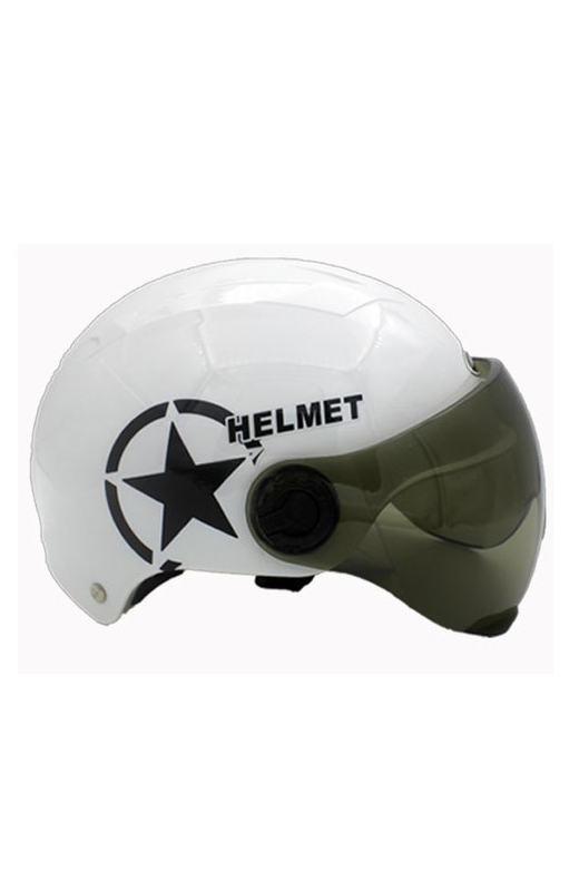 Plastic Electric Bicycle Helmet