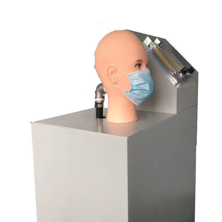 Disposable mask airflow resistance tester