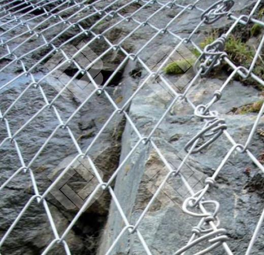 Mountain Rockfall Protection Mesh