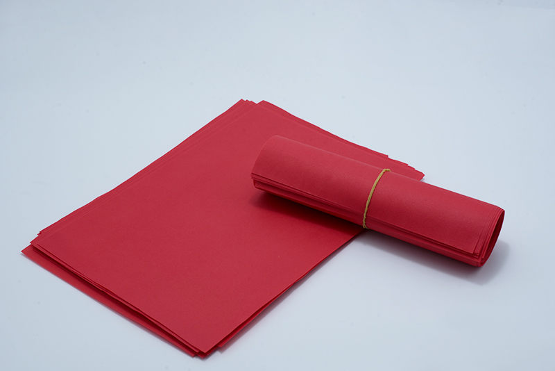 Red Plain Paper(for masking tape)