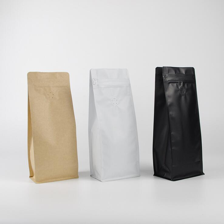Eight side sealed packing bag  Coffee bag