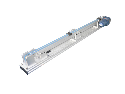 Jig linear back-flow conveyor
