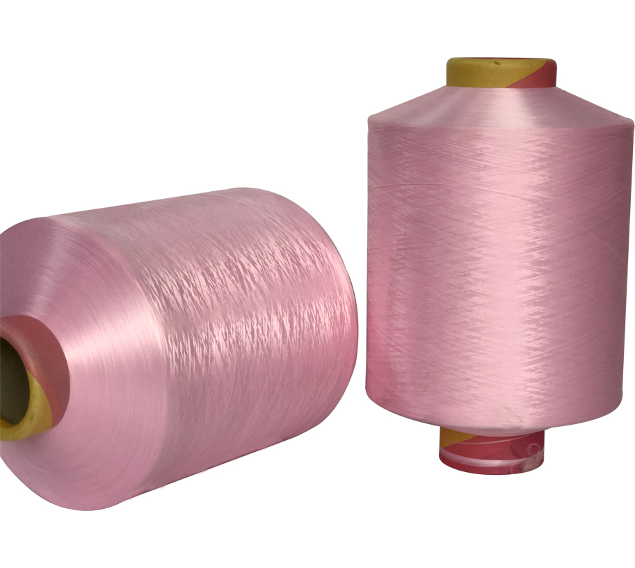 300D Pink Polyester Yarn
